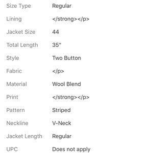 Loro Piana Suits & Blazers - LORO PIANA DARK GRAY PINSTRIPED BLAZER SIZE 44
